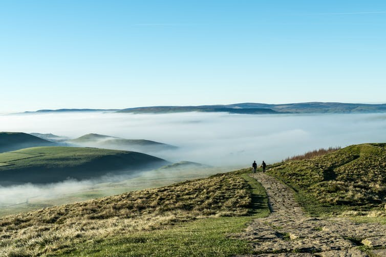 Mam Tor, Peak District. Muessig/Shutterstock.