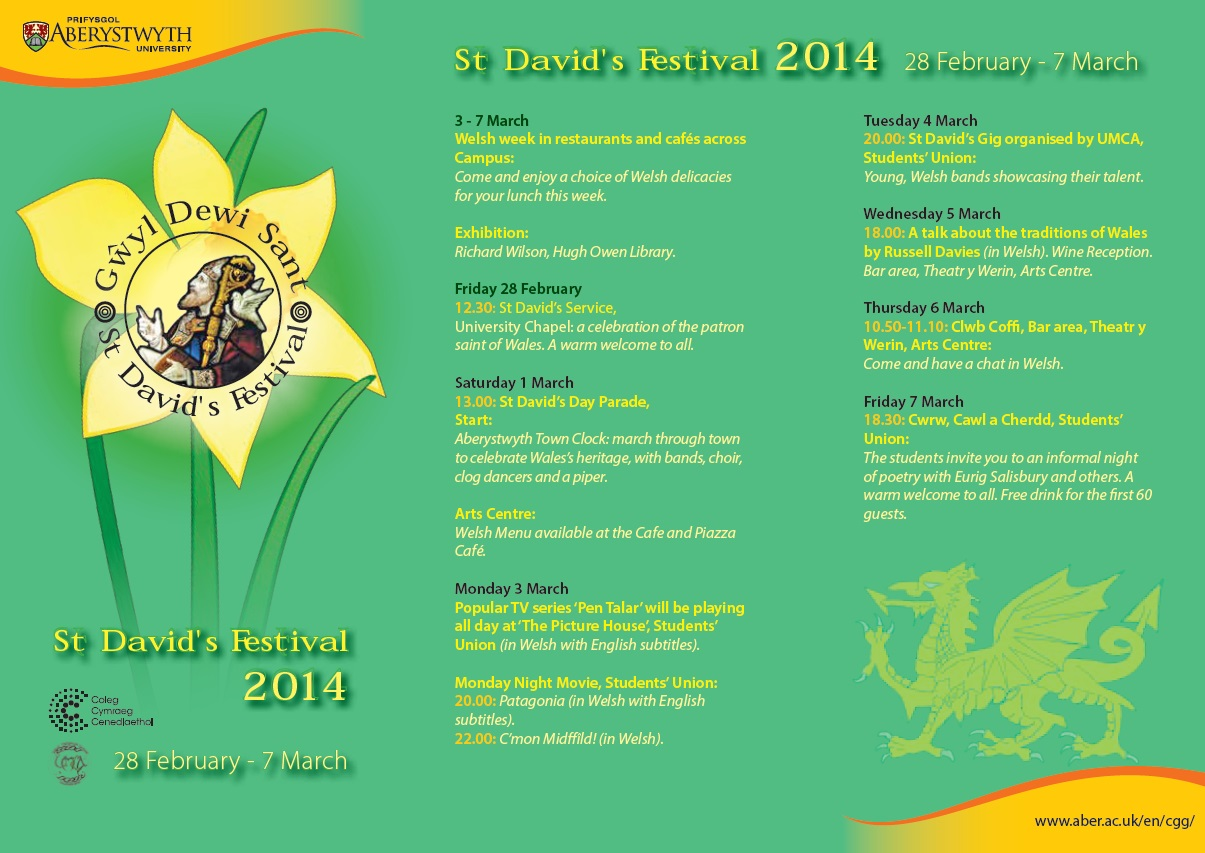 St David's Leaflet 2014