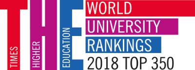 Times Higher Education World Rankings 2018- top 350
