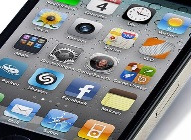 Apps on an iPhone