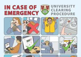 University Clearing 2012 - Emergency Procedure