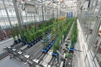 Driving growth: £6.8m has been invested in the new National Phenomics Centre at Aberystwyth University