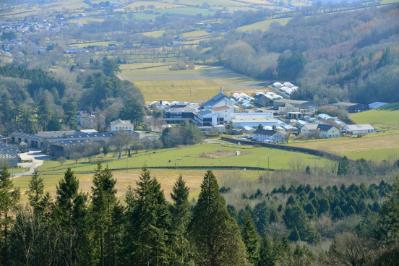 The plan is for Pwllpeiran to become part of the new Aberystwyth Innovation and Diffusion Campus at Gogerddan
