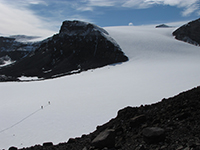 Glaciers in northern Antarctic Peninsula. Photo: Dr Bethan Davies