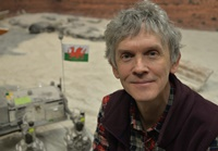Dr Laurence Tyler, a member of the Space Robotics Group at Aberystwyth University