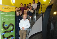 Participants of Business Start-up Week 2015 with Enterprise Manager, Tony Orme.
