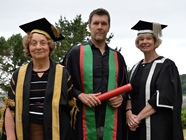 Rhod Gilbert was one of the Fellows presented during Graduation 2014