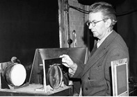 Picture of John Logie Baird from the BBC