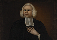 George Whitefield circa 1750s. Attributed to Joseph Badger Harvard.