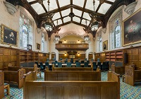 Interior of Court 1 at the UK Supreme Court. Photo by David Iliff. License: CCBY-SA 3.0