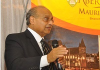 Professor Ved Prukash Torul, of the Aberystwyth University Mauritius Branch Campus.