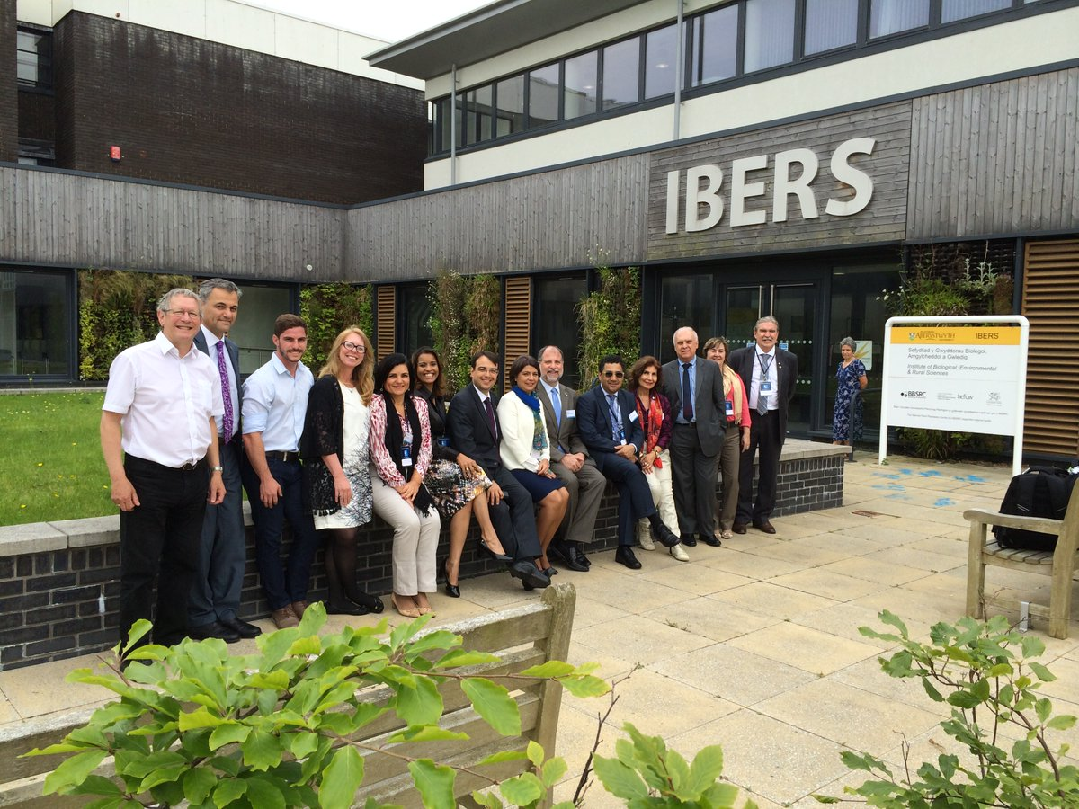 A delegation from five Brazilian universities visting IBERS