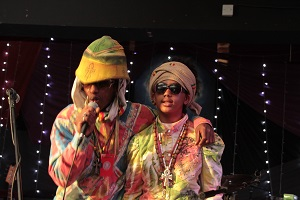 Scratchylus and Empress Reggae who will be performing at the University on 15 October