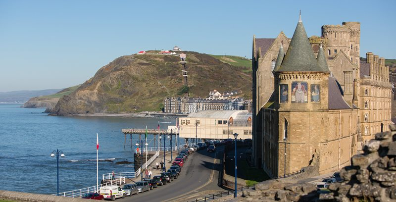 The Old College, Aberystwyth University