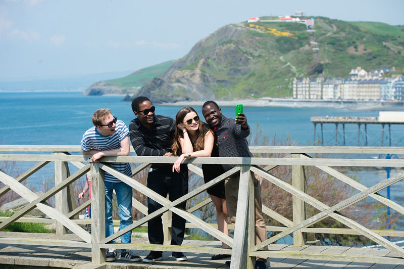 Aberystwyth University was voted a top ten university in the 2017 Whatuni Student Choice Awards.