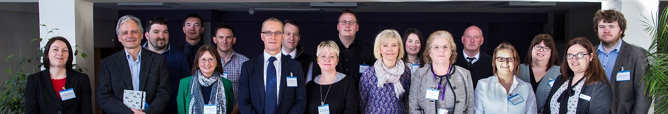 Business leaders from across the region who took part in the Business Breakfast hosted by Aberystwyth Business School in partnership with Mid Wales Manufacturing Group (MWMG).