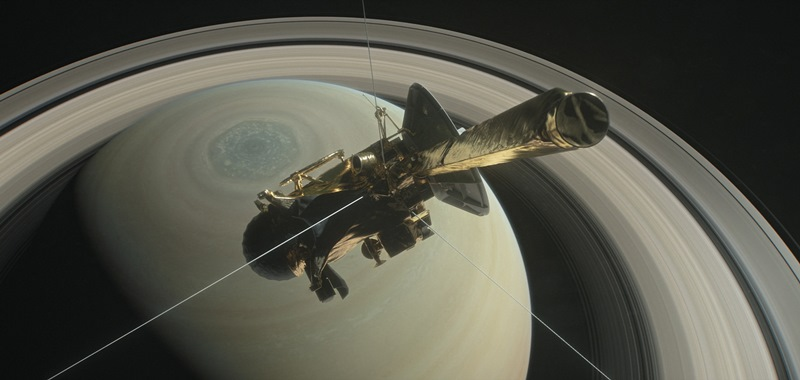 Cassini: The space craft will end its twenty year mission to Saturn on Friday 15 September – Image courtesy of NASA/JPL-Caltech