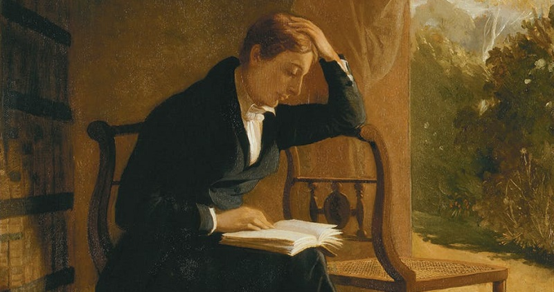 John Keats, by Joseph Severn. National Portrait Gallery/Wikimedia Richard Marggraf-Turley, Aberystwyth University