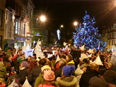 Aberystwyth Christmas Lights and Lantern Parade