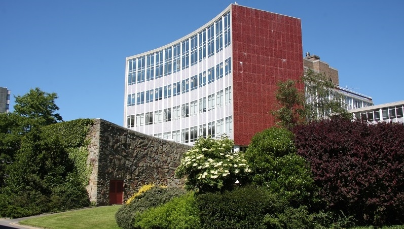 The award winning Physical Sciences Building at Aberystwyth University