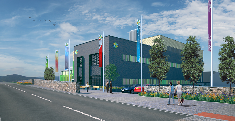 An artist's impression of the £40.5m Aberystwyth Innovation and Enterprise Campus which is due for completion in 2020.