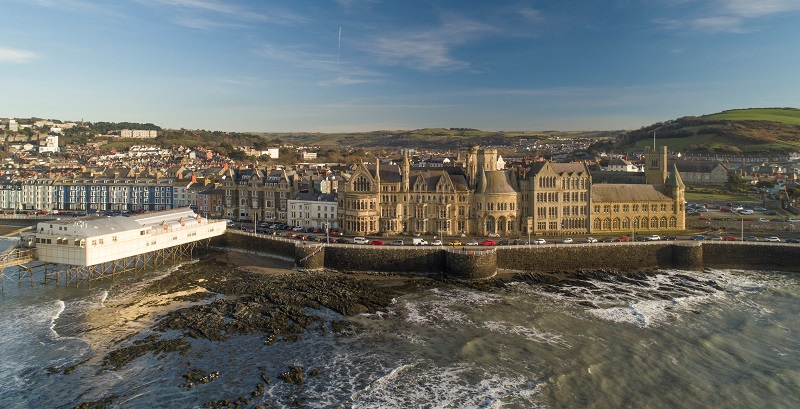 Aberystwyth University has submitted applications for full planning consent to transform the iconic Old College building, which opened its doors in 1872 and was the first home of the University of Wales. Image: Keith Morris.