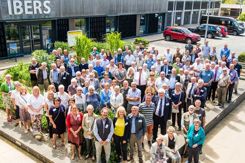 Ex members of staff come together to celebrate 100 Years of Plant Breeding in Aberystwyth