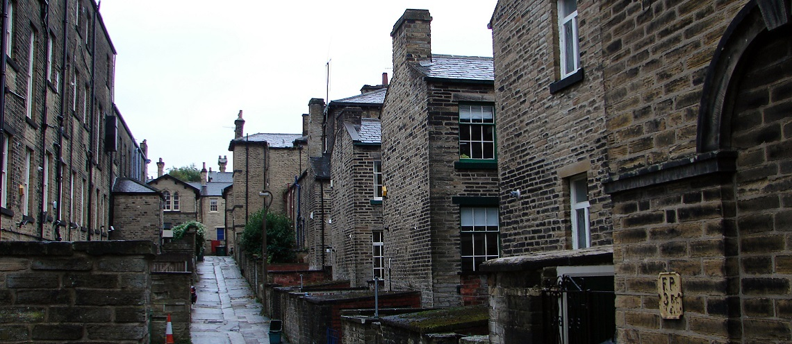 Saltaire in Yorkshire – a mill town which is now a world heritage site