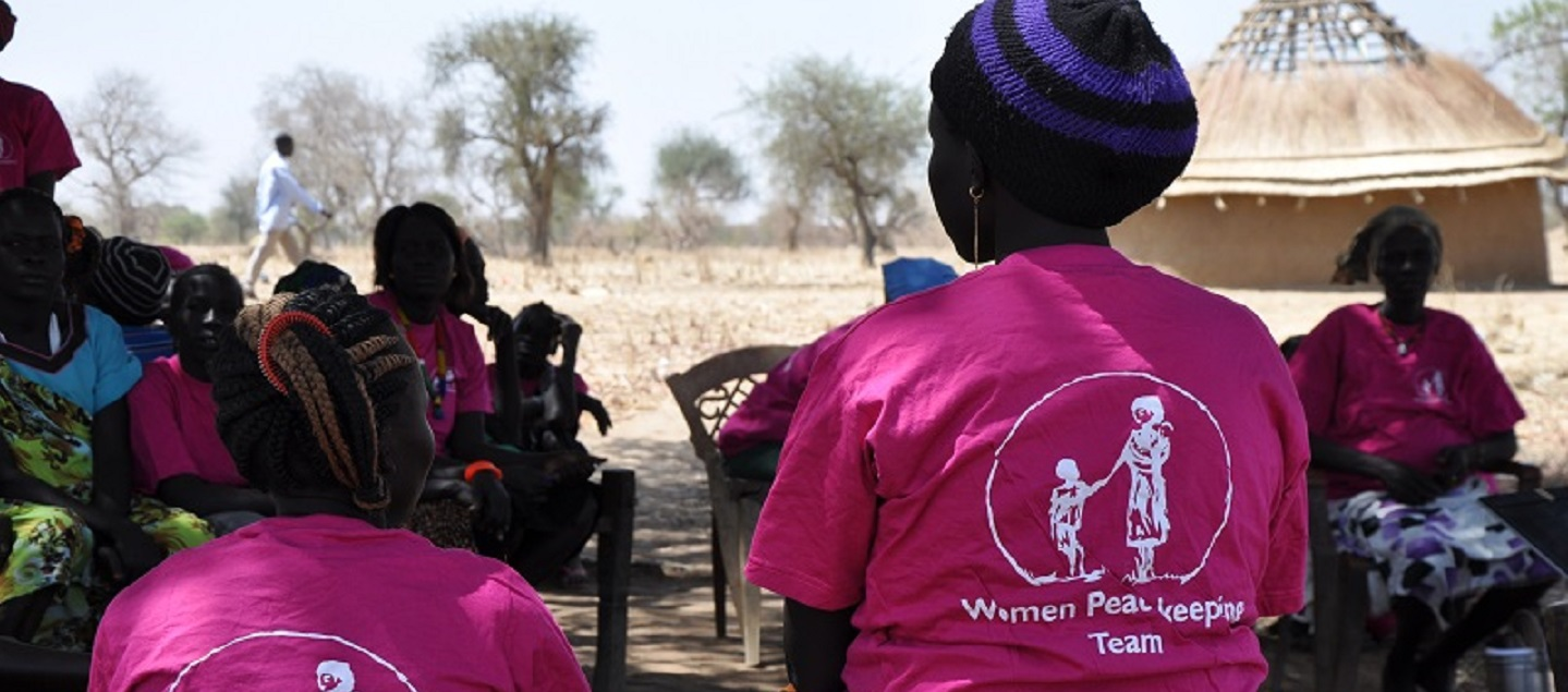 Unarmed civilian protection organisations like Nonviolent Peaceforce's South Sudan Women's Protection Teams work to create physical safety in communities affected by violent conflict. Photo credit: Nonviolent Peaceforce/