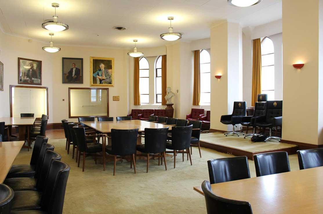 Aberystwyth University Timetabling Council Chamber