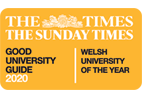 Good University Guide 2020 - Welsh University of the year