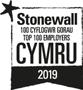 Stonewall - 100 Cyflogwr gorau Cymru 2019