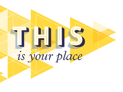 This is your place logo