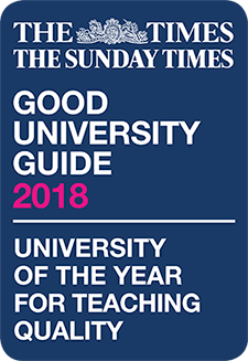 Good University Guide 2018 - University of the year for teaching quality