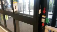 Aber Card access and exit to the library