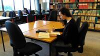 Quiet Group Study Room in Hugh Owen Library now Iris De Freitas Room